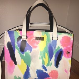 Kate Spade large floral tote